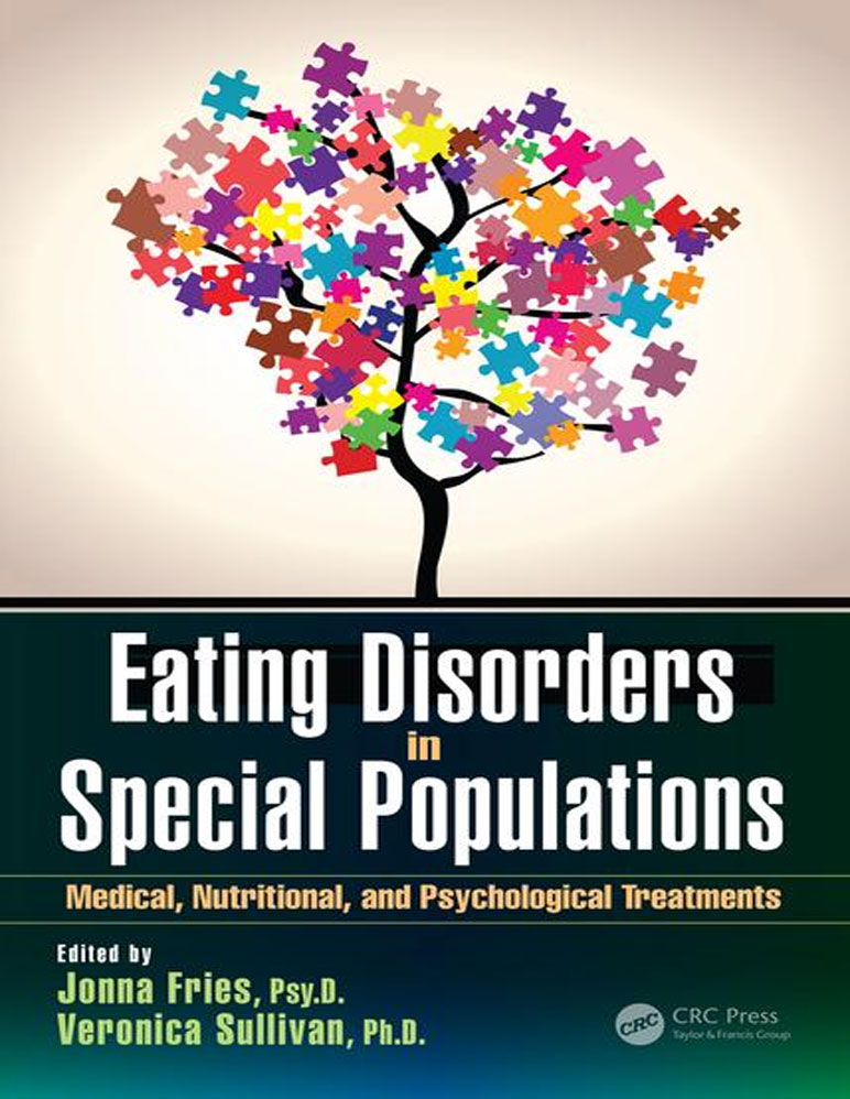 "Book cover for ""Eating Disorders in Special Populations"""