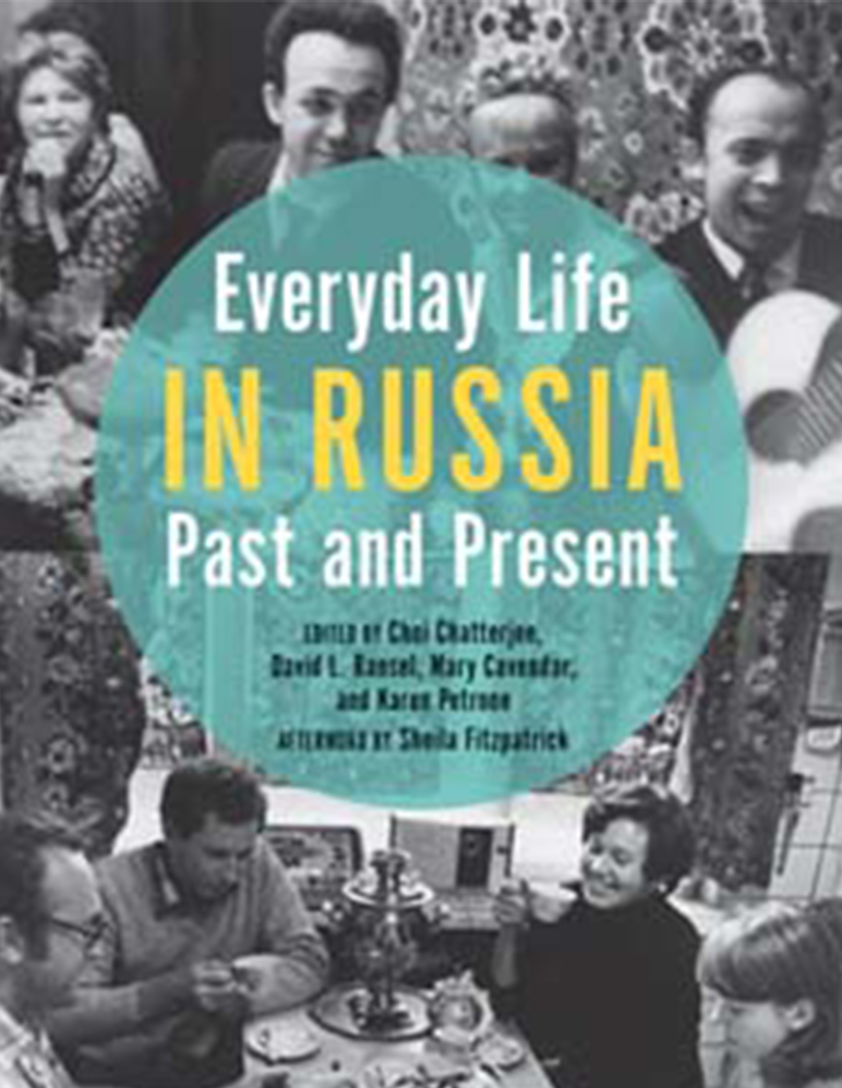 Book cover of Everyday Life in Russia Past and Preset