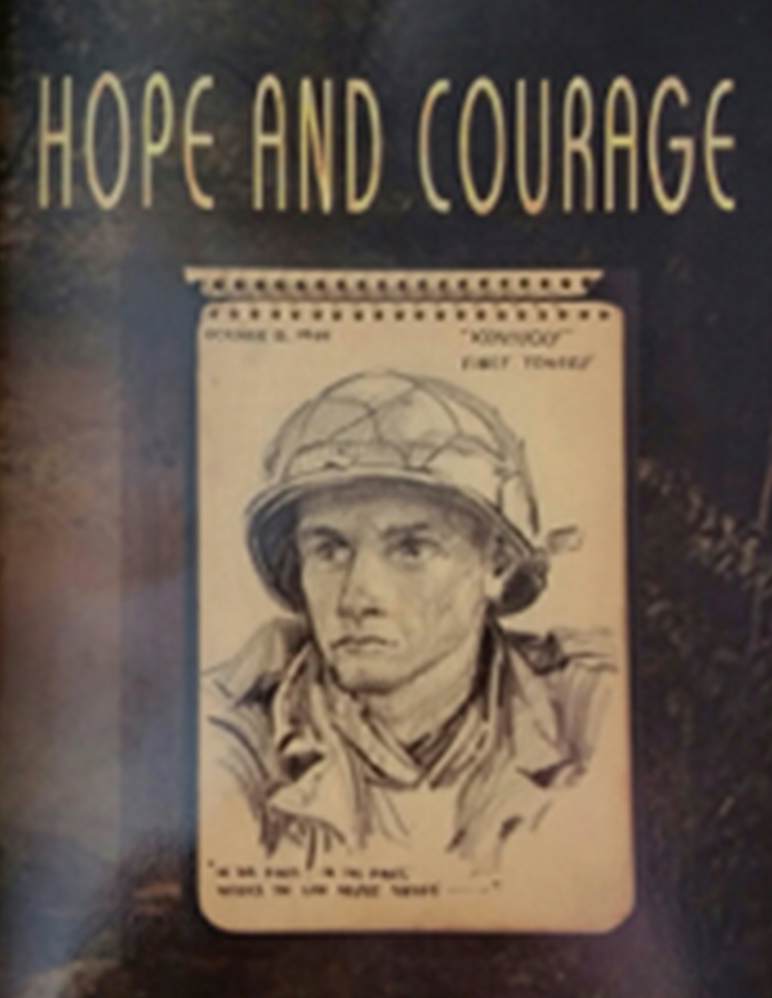 Book cover of Hope and Courage